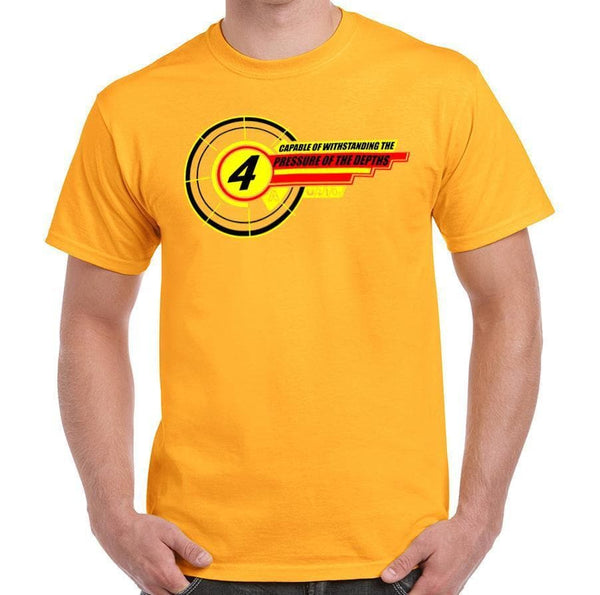 "Gerry Anderson inspired ""4"" T-shirt [4 of 5] - Gerry Anderson Official - 1"