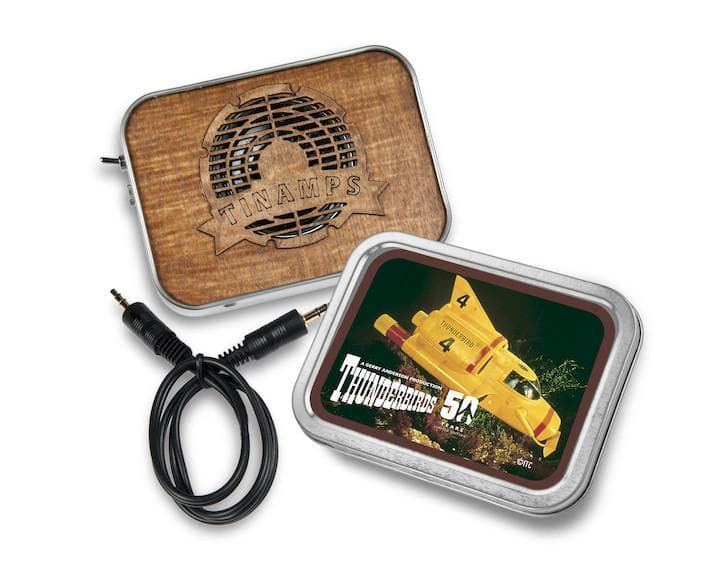 Thunderbird 4 Tin Amp - available now with 2 week delivery time - Gerry Anderson Official - 2
