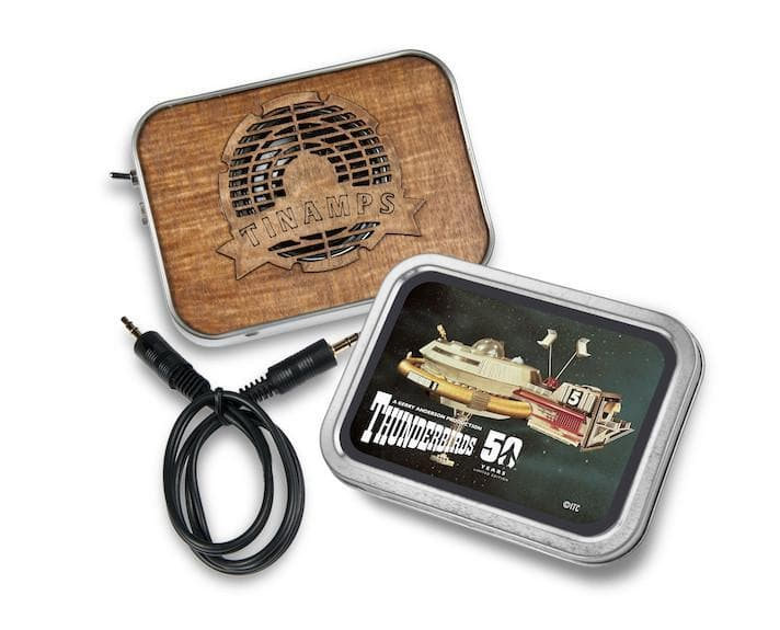 Thunderbird 5 Tin Amp - available now with 2 weeks delivery time - Gerry Anderson Official - 2