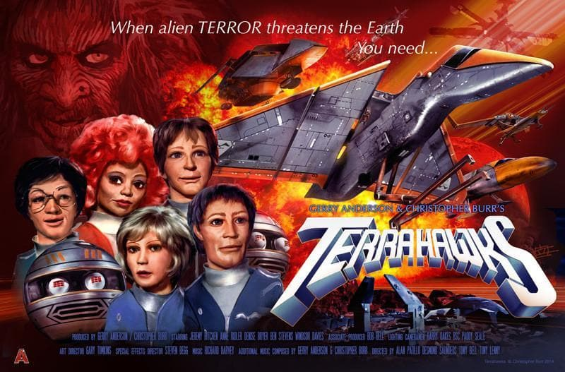Terrahawks Poster by Eric Chu - Gerry Anderson Official