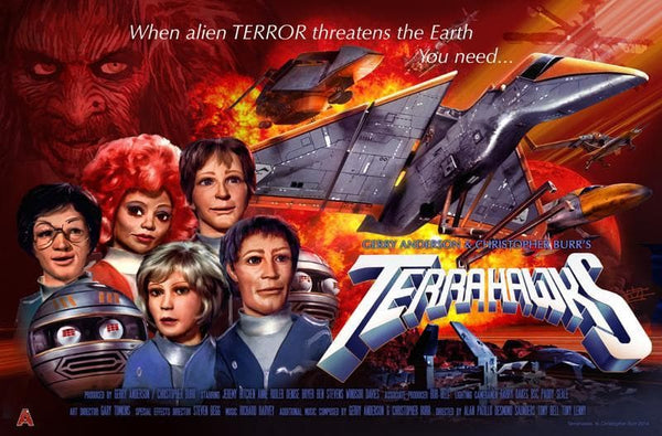 Terrahawks Poster by Eric Chu - The Gerry Anderson Store