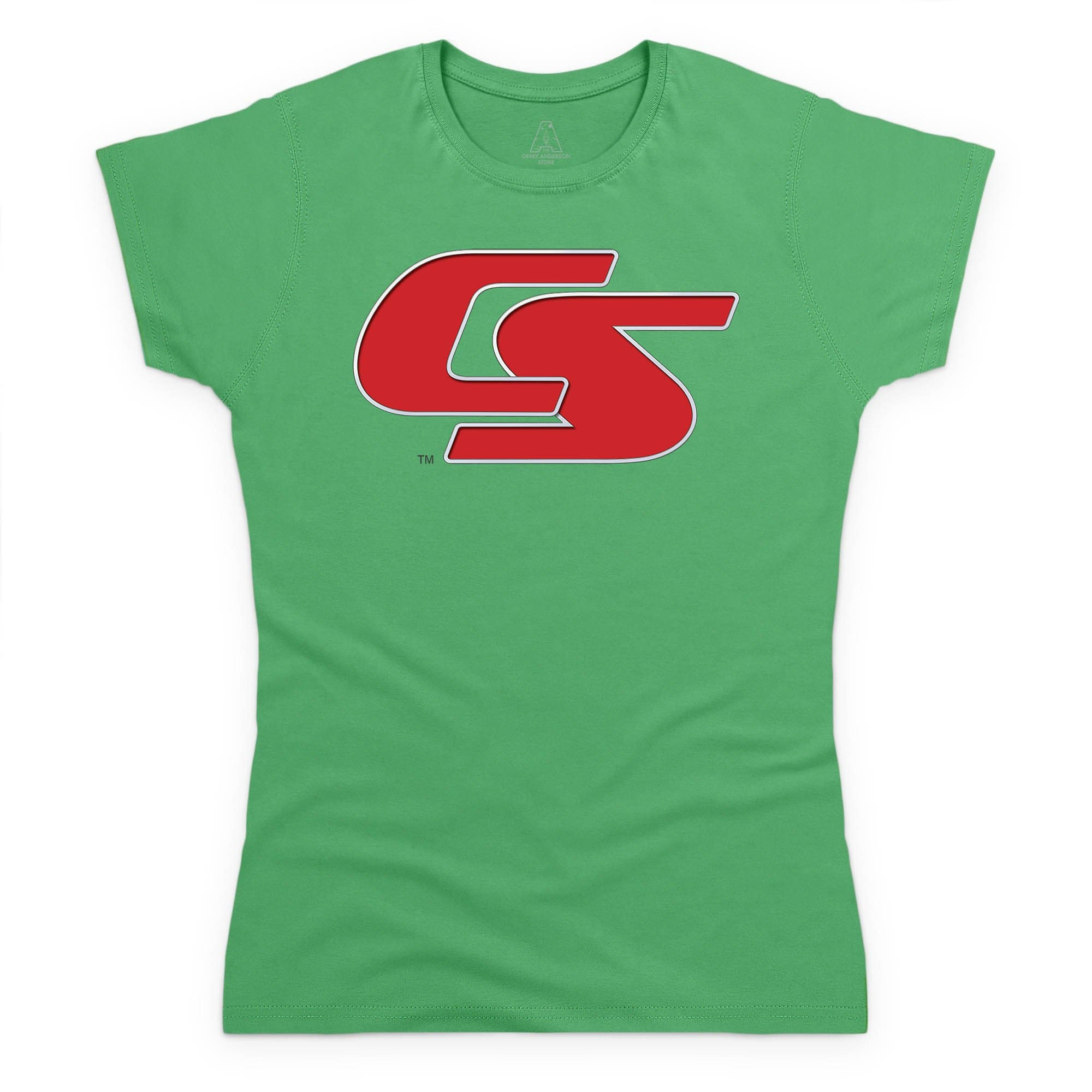 New Captain Scarlet Logo Women's T-Shirt [Official & Exclusive] - The Gerry Anderson Store