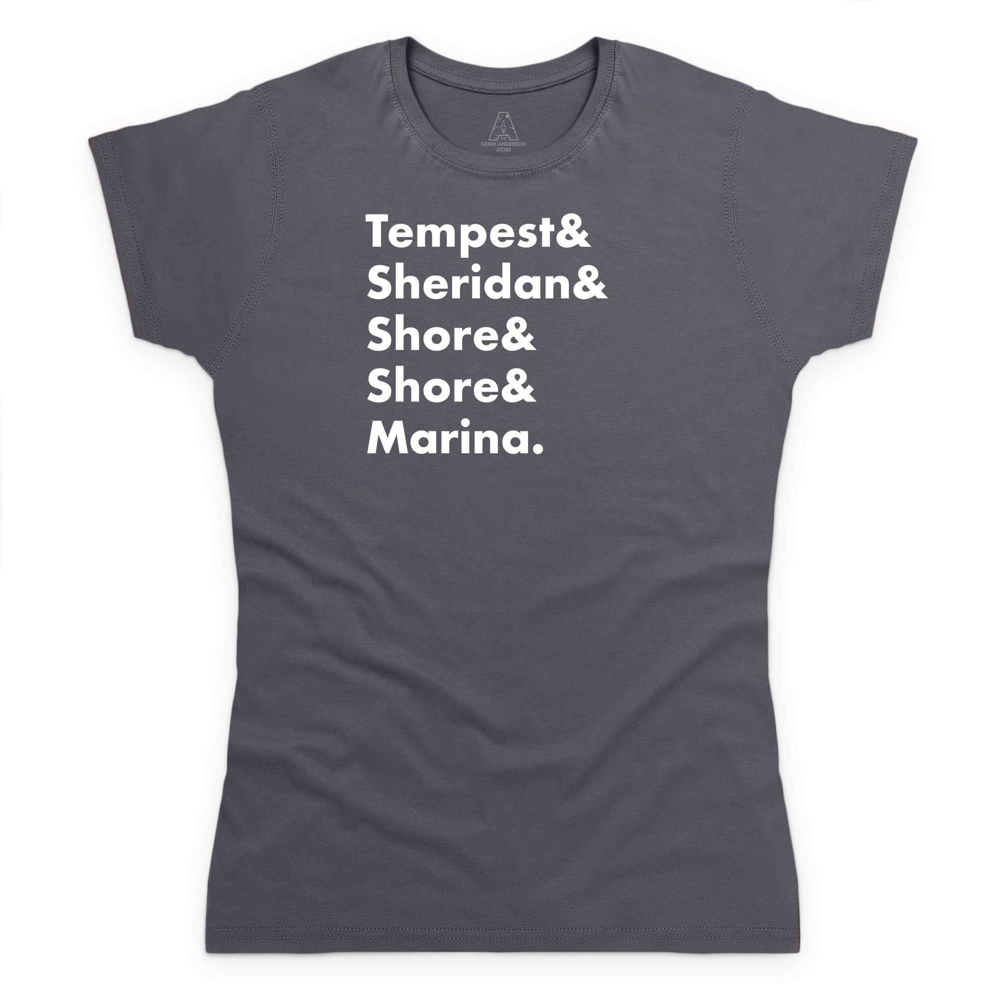 Heroes of Marineville Stingray Women's T-Shirt [Official & Exclusive] (WF) - The Gerry Anderson Store