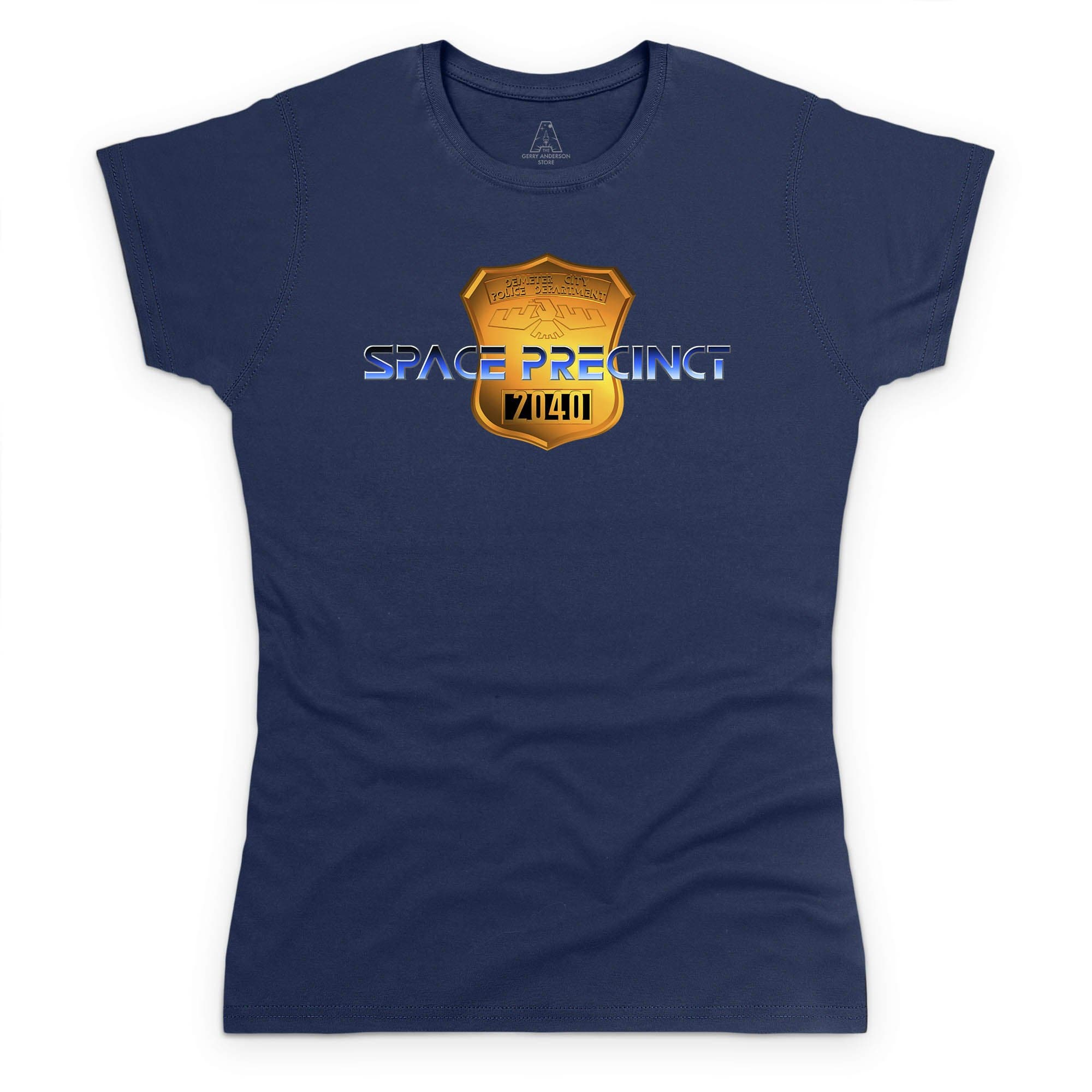 Space Precinct Logo Women's T-Shirt [Official & Exclusive] - The Gerry Anderson Store