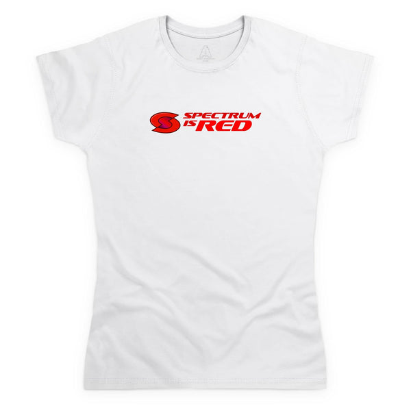 Spectrum Is Red Women's White T-Shirt [Official & Exclusive] - The Gerry Anderson Store