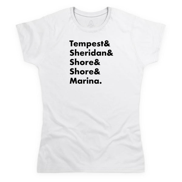 Heroes of Marineville Stingray Women's White T-Shirt [Official & Exclusive] - The Gerry Anderson Store