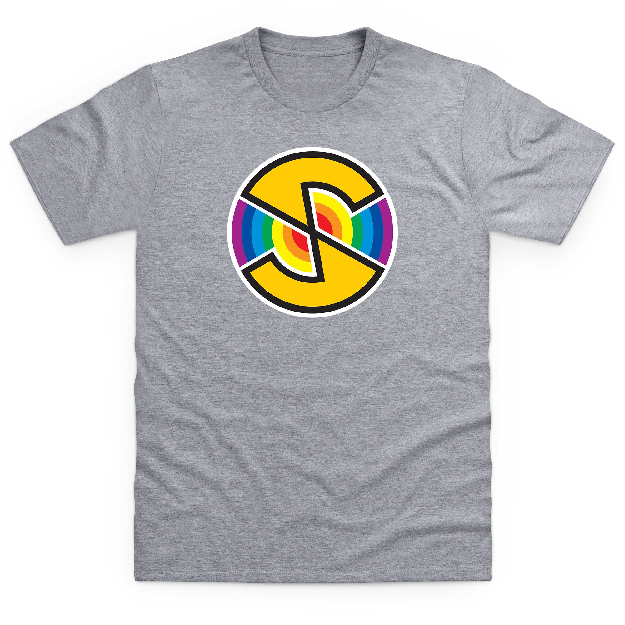 Captain Scarlet Spectrum Logo Men's T-Shirt [Official & Exclusive]