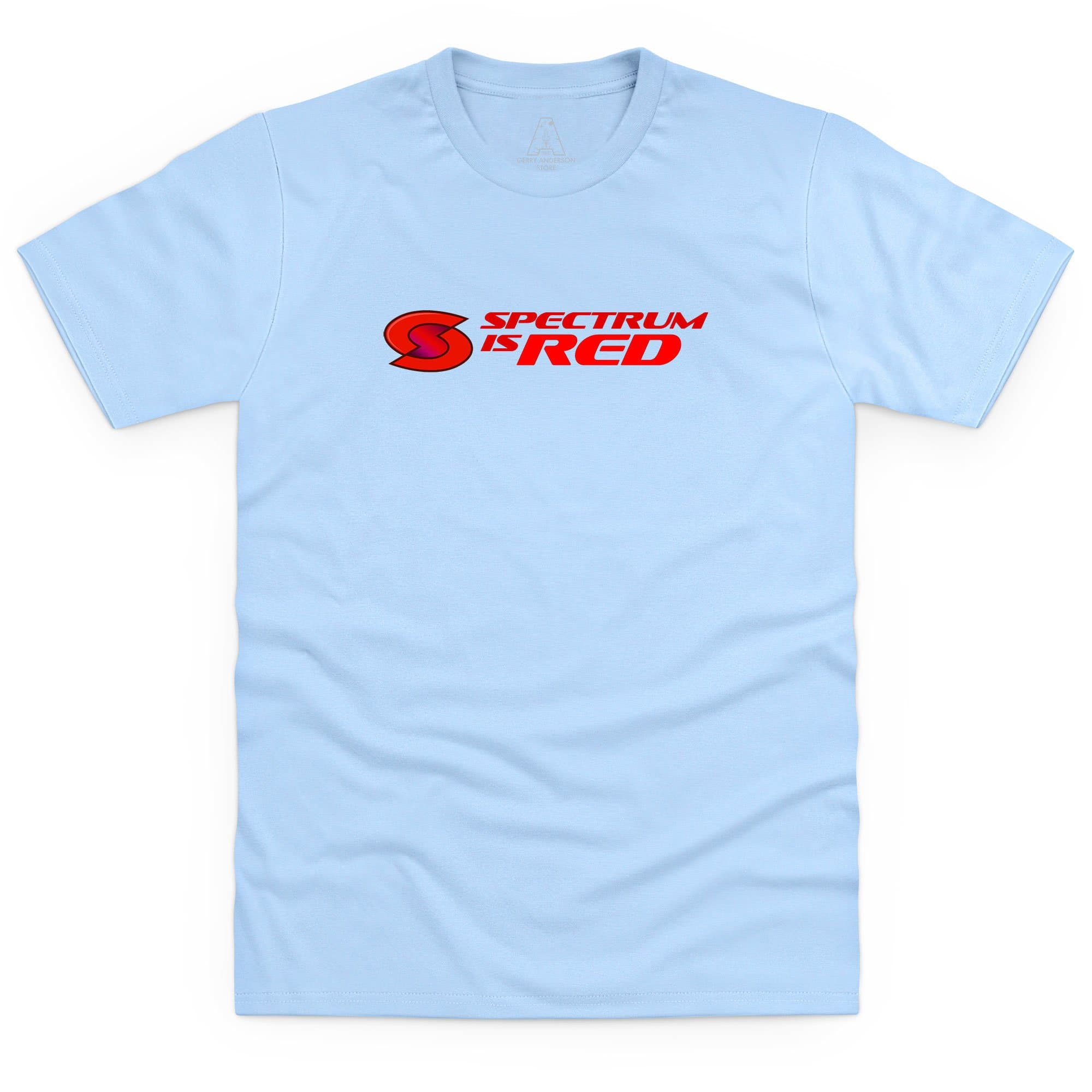 Spectrum Is Red Men's T-Shirt [Official & Exclusive] - The Gerry Anderson Store