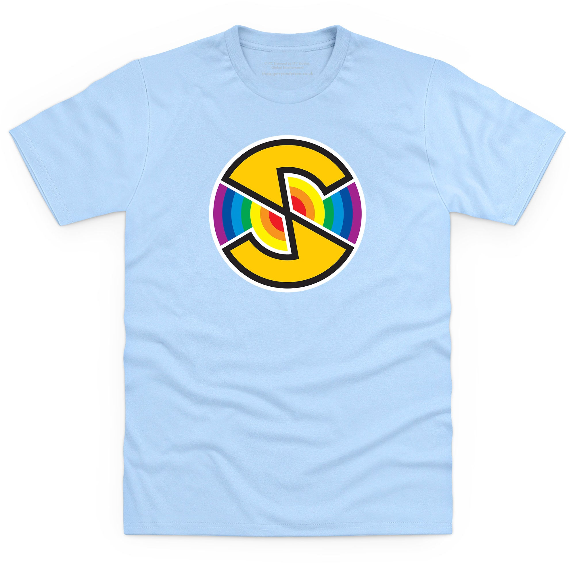 Captain Scarlet Spectrum Logo Men's T-Shirt [Official & Exclusive] - The Gerry Anderson Store