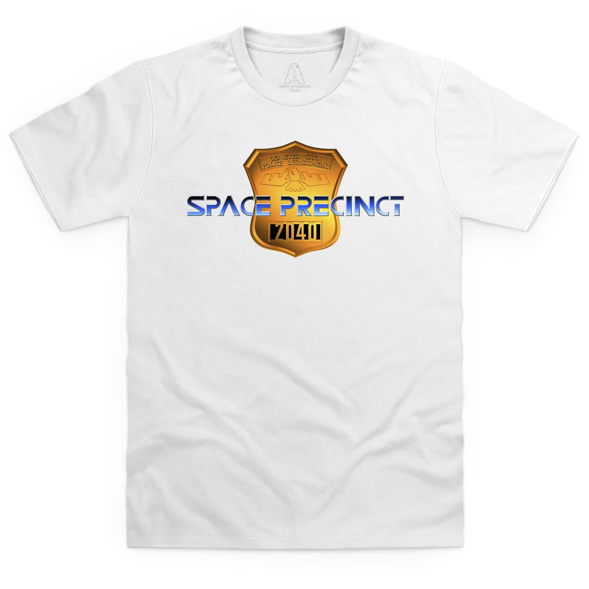 Space Precinct Logo Men's T-Shirt [Official & Exclusive] - The Gerry Anderson Store