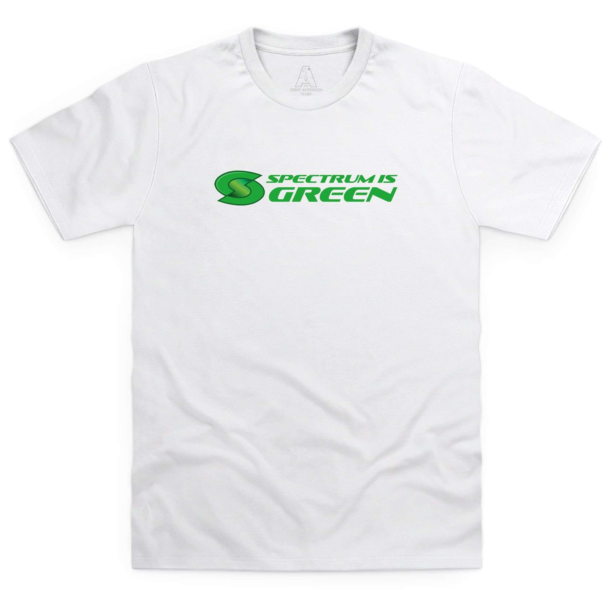 Spectrum Is Green Men's T-Shirt [Official & Exclusive] - The Gerry Anderson Store