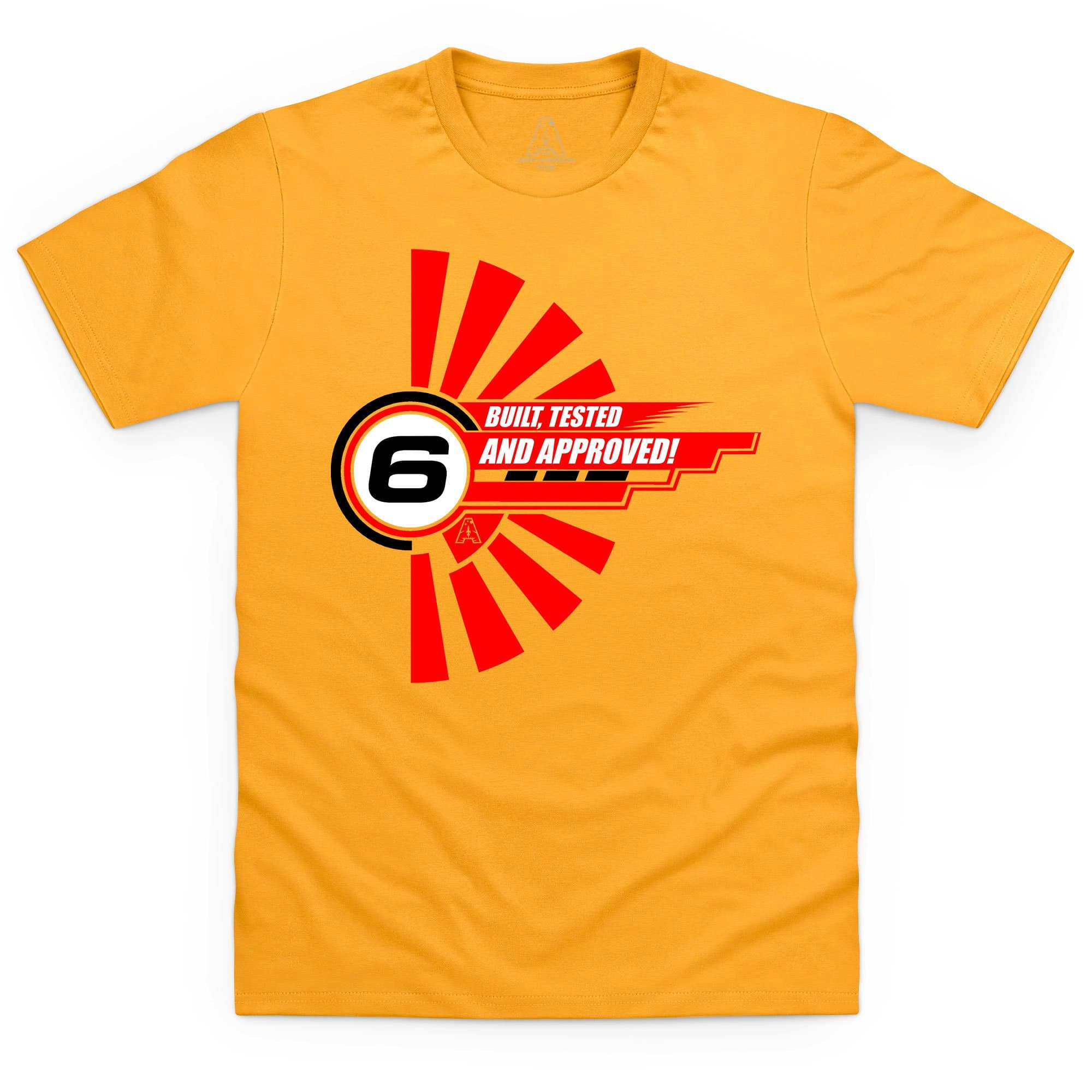 "Gerry Anderson Inspired ""6"" Men's T-shirt - The Gerry Anderson Store"