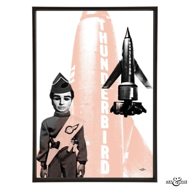 Pop art of Thunderbird 1 with Scott Tracy - Gerry Anderson Official - 13