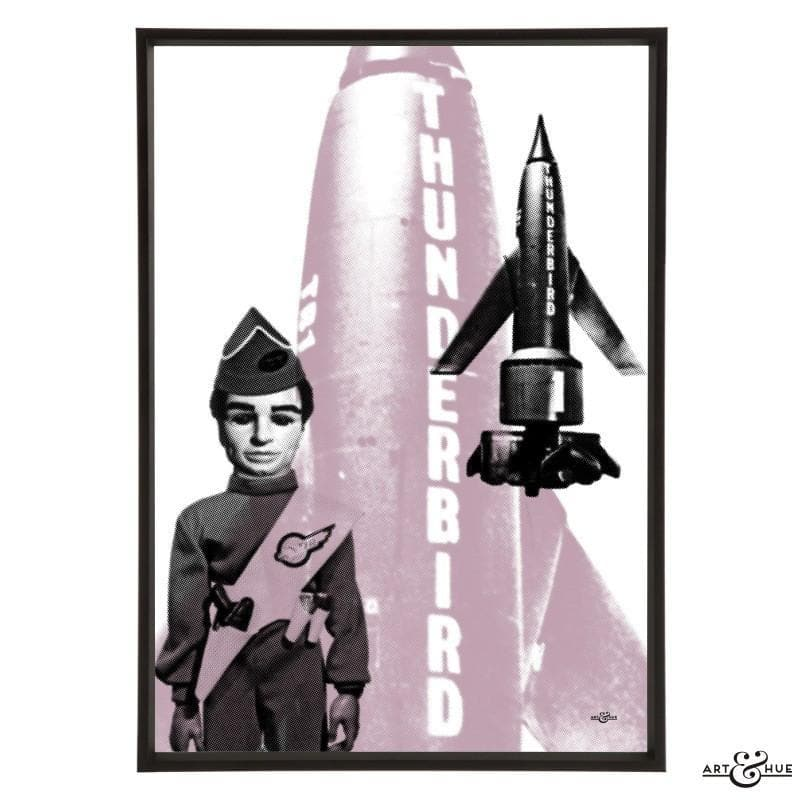 Pop art of Thunderbird 1 with Scott Tracy - Gerry Anderson Official - 12