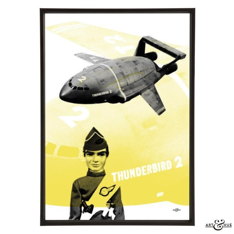 Pop art of Thunderbird 2 with Virgil Tracy - Gerry Anderson Official - 3