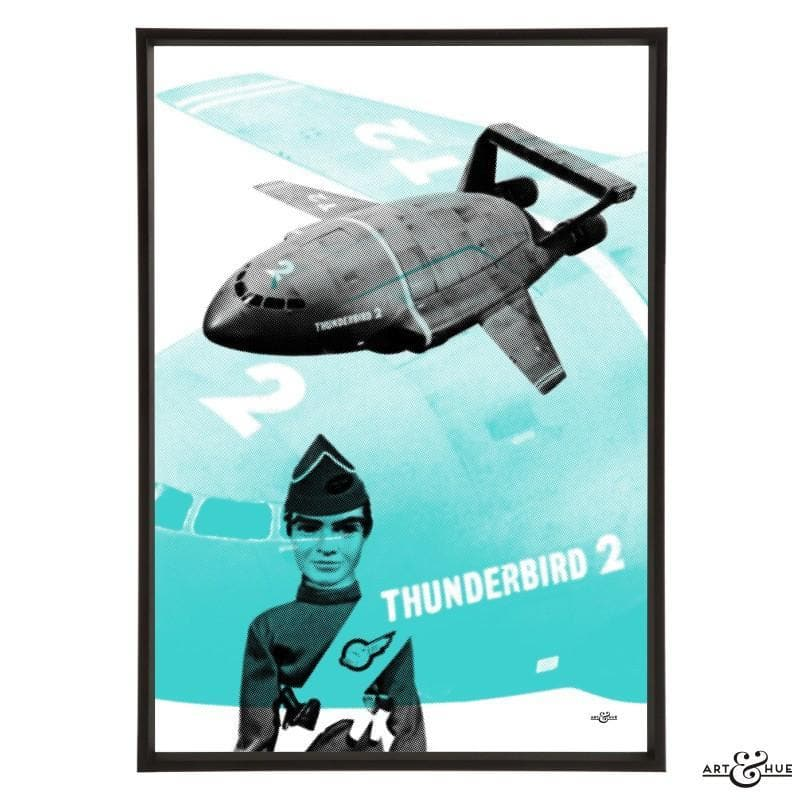 Pop art of Thunderbird 2 with Virgil Tracy - Gerry Anderson Official - 8