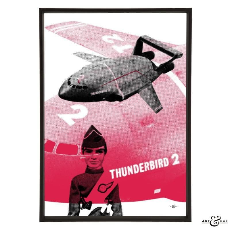 Pop art of Thunderbird 2 with Virgil Tracy - Gerry Anderson Official - 17