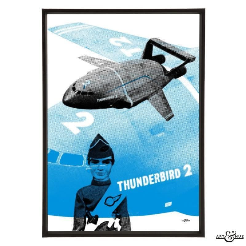 Pop art of Thunderbird 2 with Virgil Tracy - Gerry Anderson Official - 9