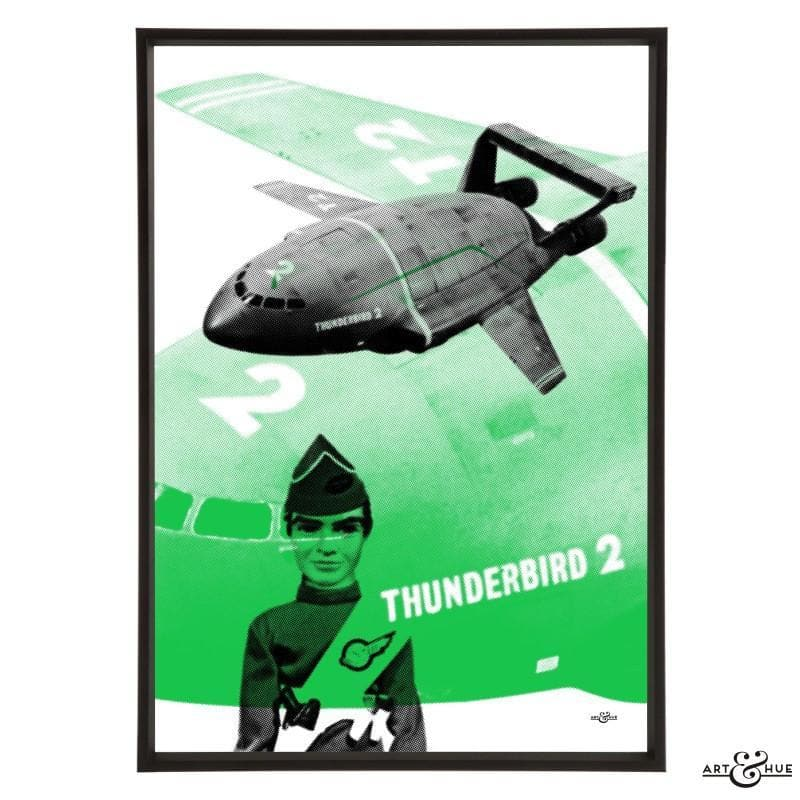 Pop art of Thunderbird 2 with Virgil Tracy - Gerry Anderson Official - 7