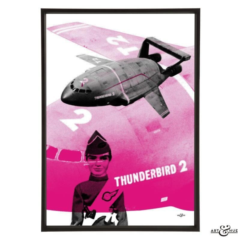 Pop art of Thunderbird 2 with Virgil Tracy - Gerry Anderson Official - 16