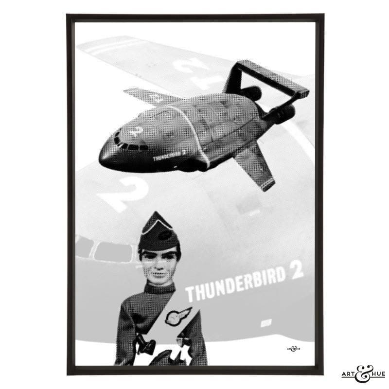 Pop art of Thunderbird 2 with Virgil Tracy - Gerry Anderson Official - 18