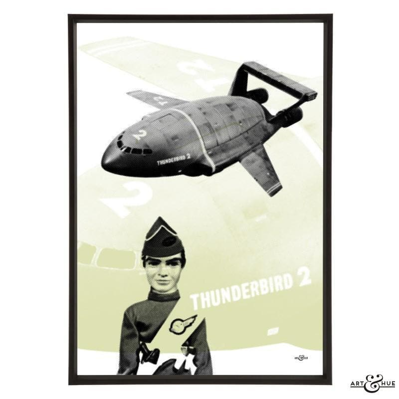 Pop art of Thunderbird 2 with Virgil Tracy - Gerry Anderson Official - 4
