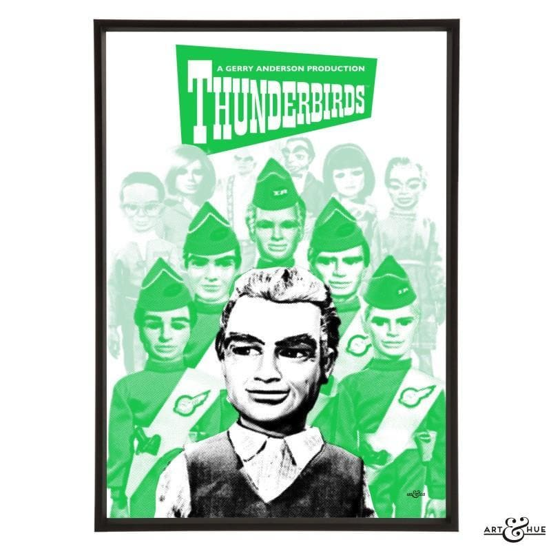 Pop art group portrait of Thunderbirds characters - Gerry Anderson Official - 3