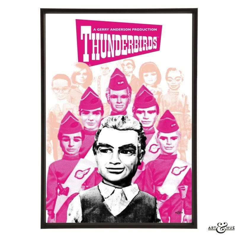 Pop art group portrait of Thunderbirds characters - Gerry Anderson Official - 5