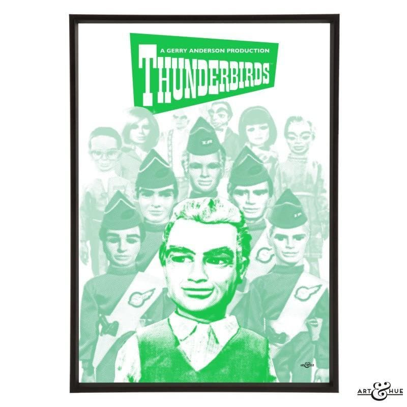 Pop art group portrait of Thunderbirds characters - Gerry Anderson Official - 9