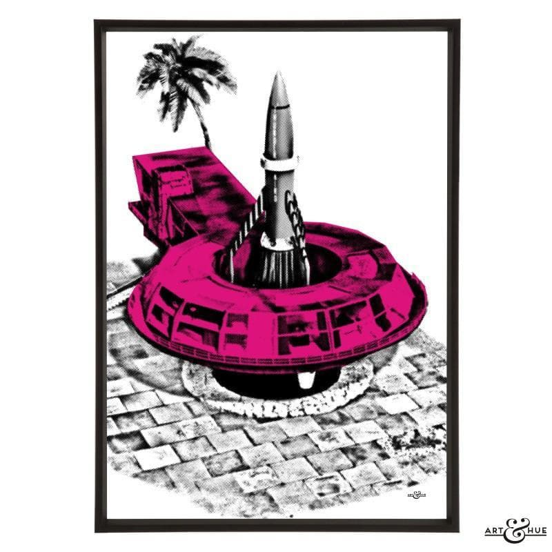 Pop art of Tracy Island Round House - Gerry Anderson Official - 15