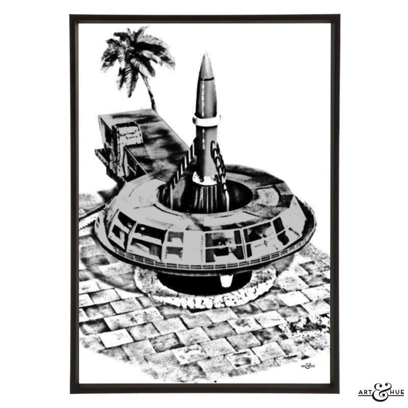 Pop art of Tracy Island Round House - Gerry Anderson Official - 18