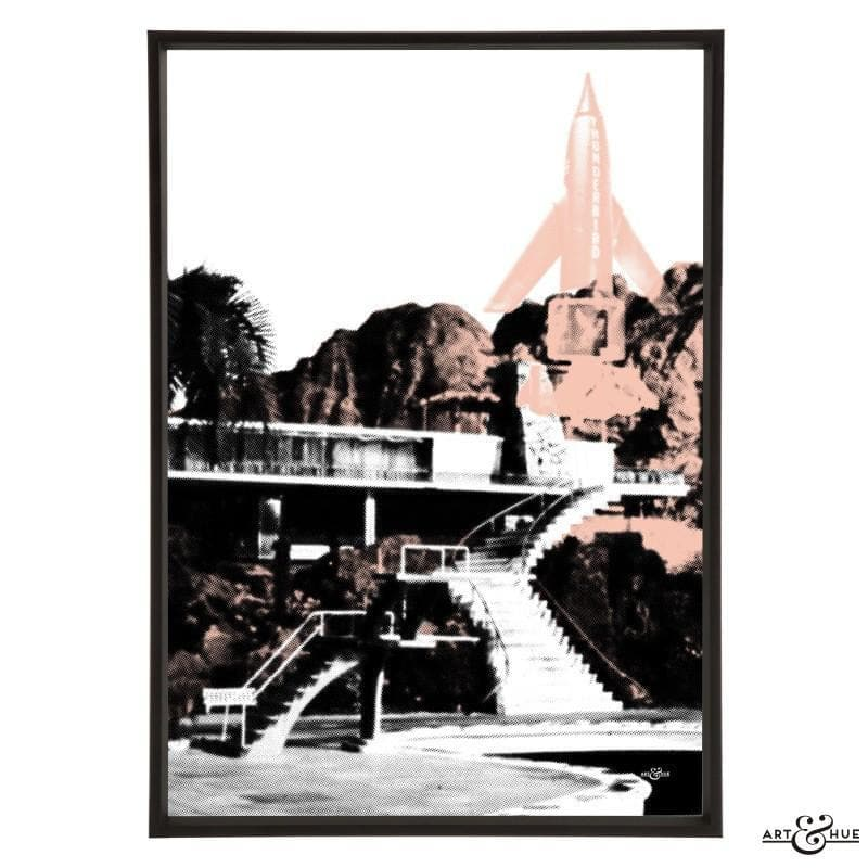 Pop art of Tracy Island Villa - Gerry Anderson Official - 13