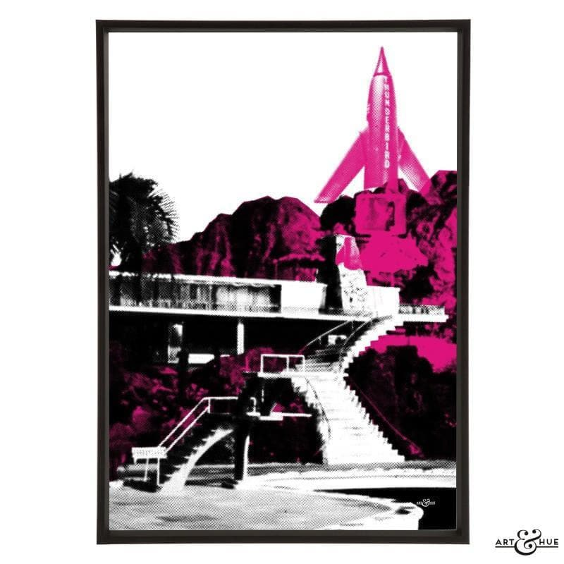 Pop art of Tracy Island Villa - Gerry Anderson Official - 15