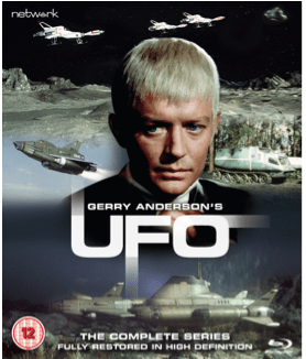 UFO – The Complete Series on Blu-ray plus exclusive postcards - Available Now - Gerry Anderson Official - 2