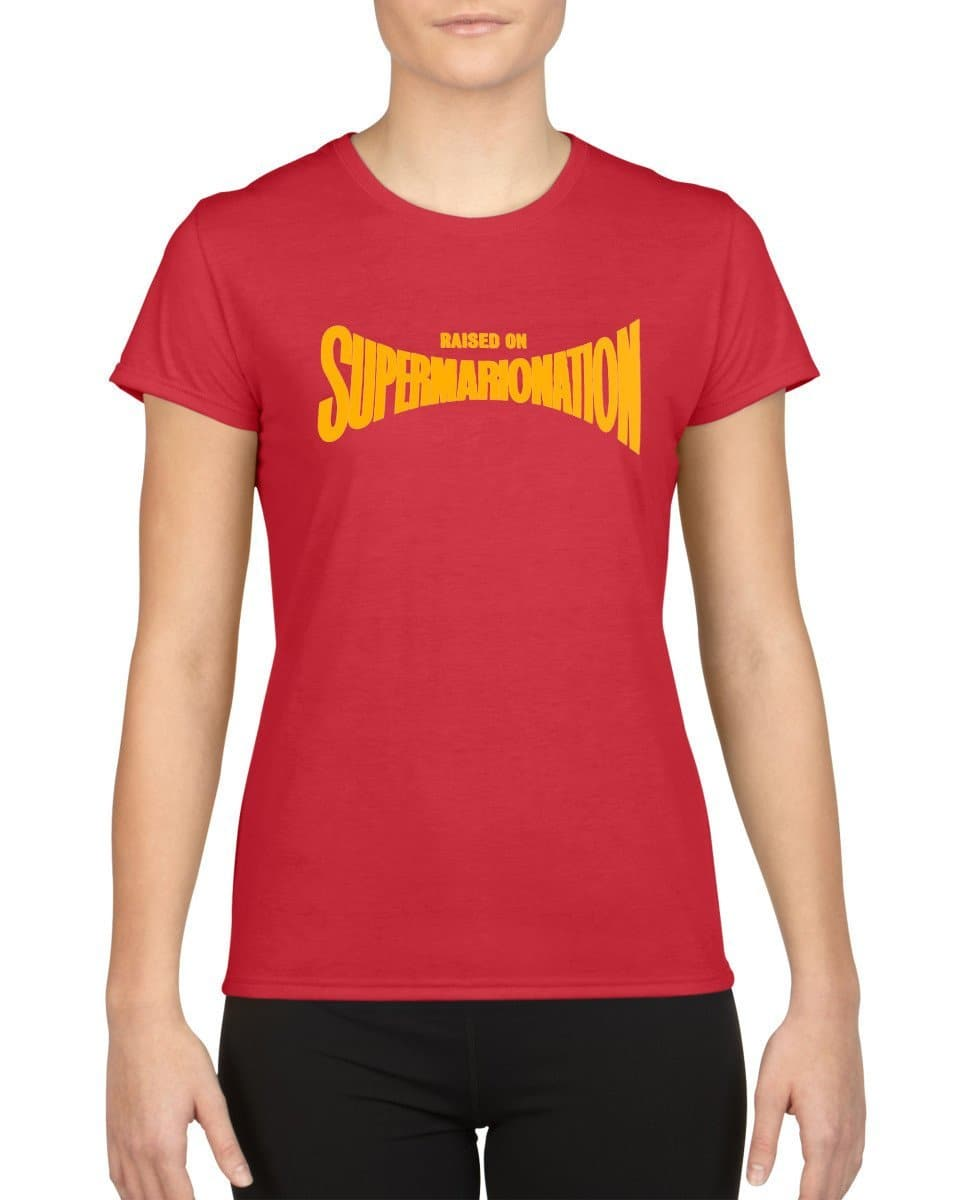 Raised on Supermarionation T-shirt [Exclusive] - The Gerry Anderson Store