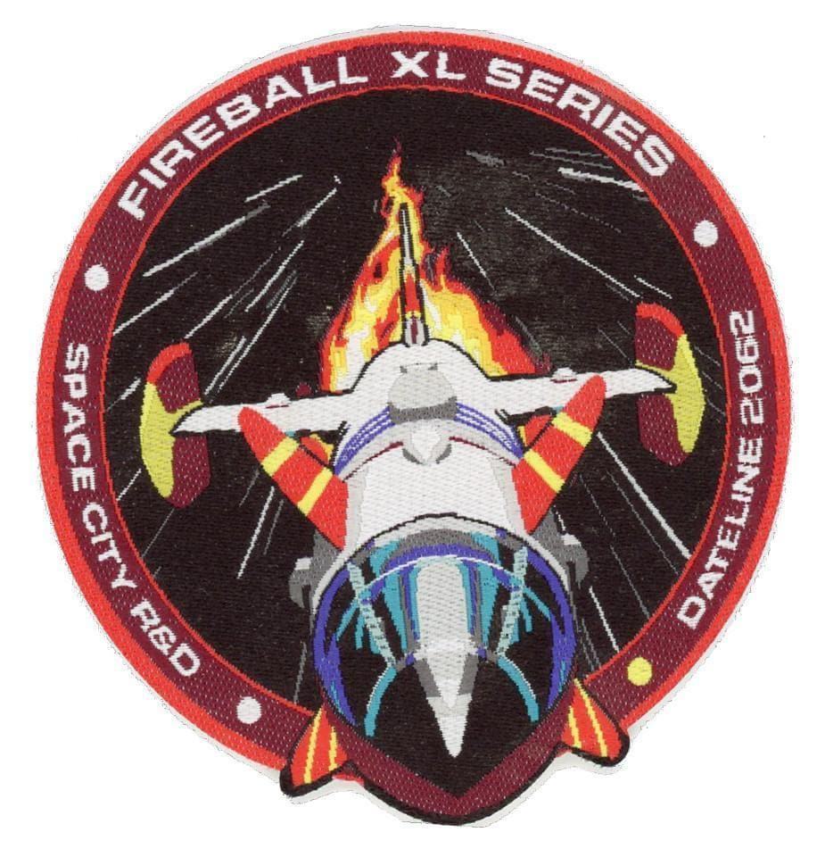 Fireball XL5 Space City R&D Patch [Official & Exclusive] - Gerry Anderson Official - 2