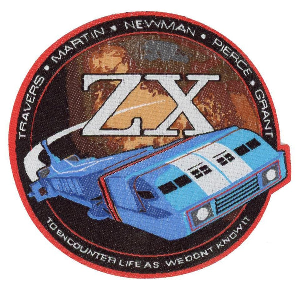Thunderbirds Zero-X Crew Patch [Official & Exclusive] - Gerry Anderson Official - 1