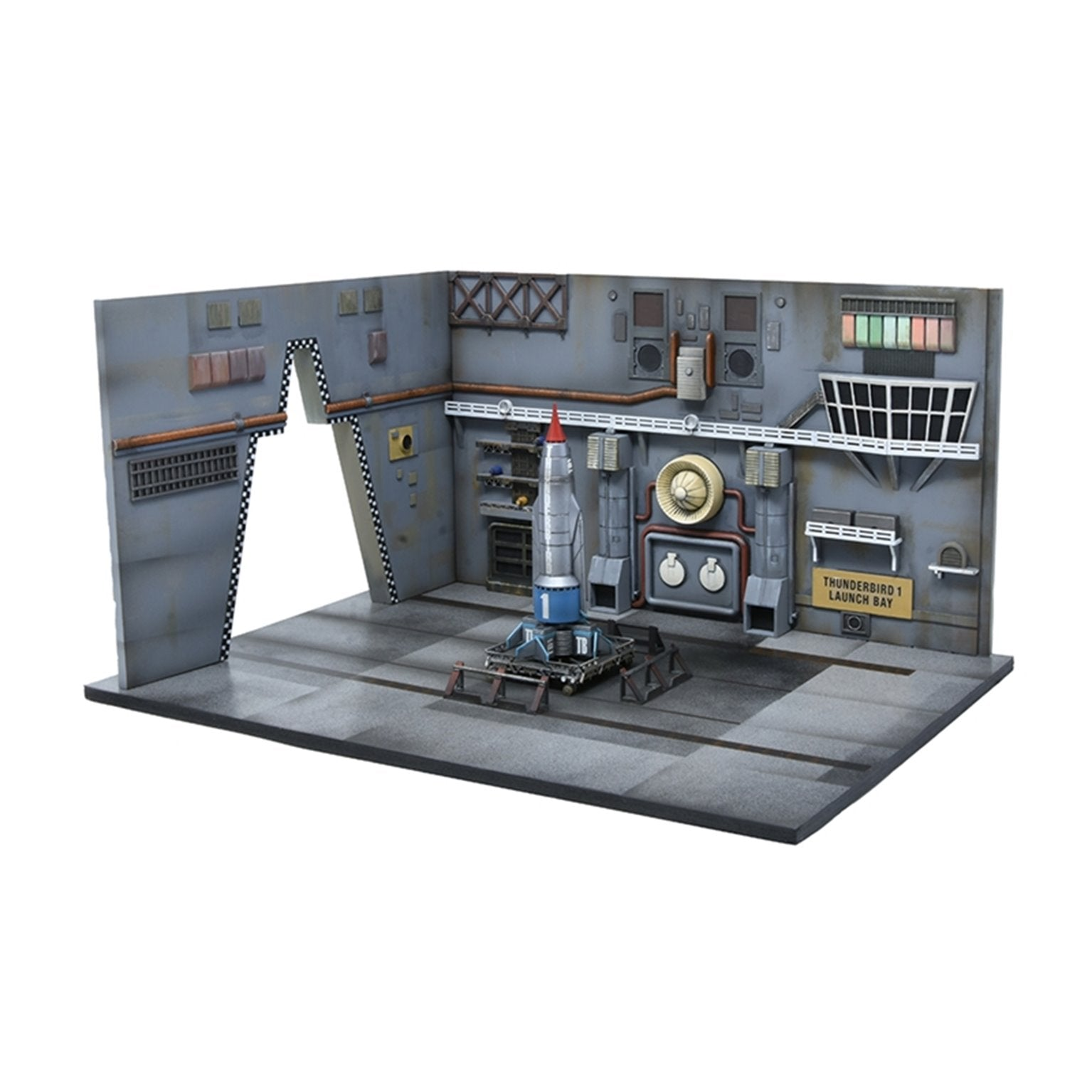 1:350 Thunderbird 1 Launch Bay Model Kit