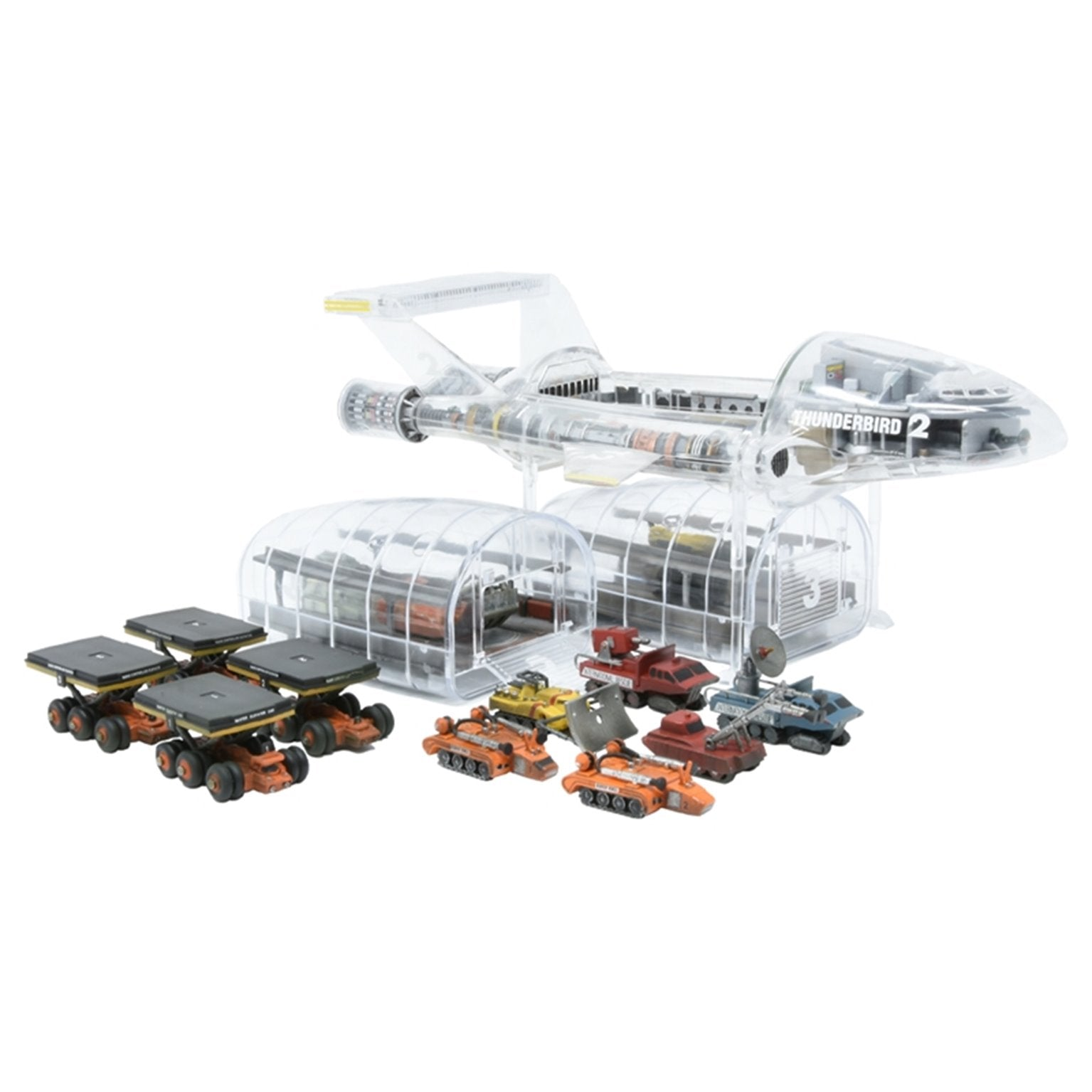 1:350 Transparent Thunderbird 2 Model Kit