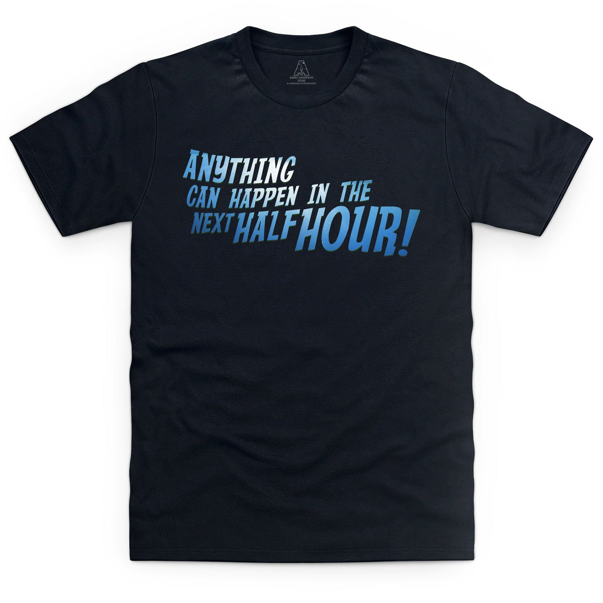 Anything Can Happen In The Next Half Hour! Kid's T-Shirt - The Gerry Anderson Store
