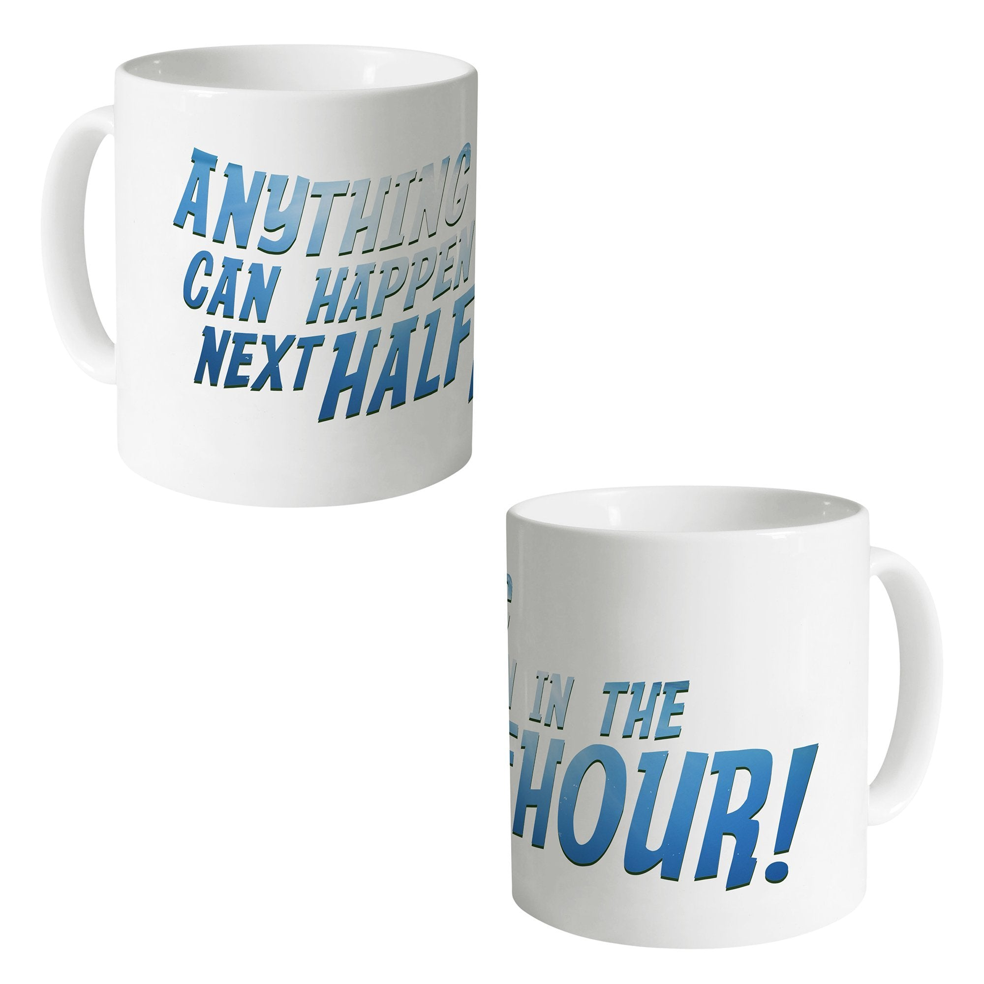 Anything Can Happen In The Next Half Hour! Mug - The Gerry Anderson Store