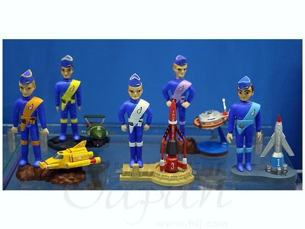 Thunderbirds X Car & Pilot Set From Aoshima