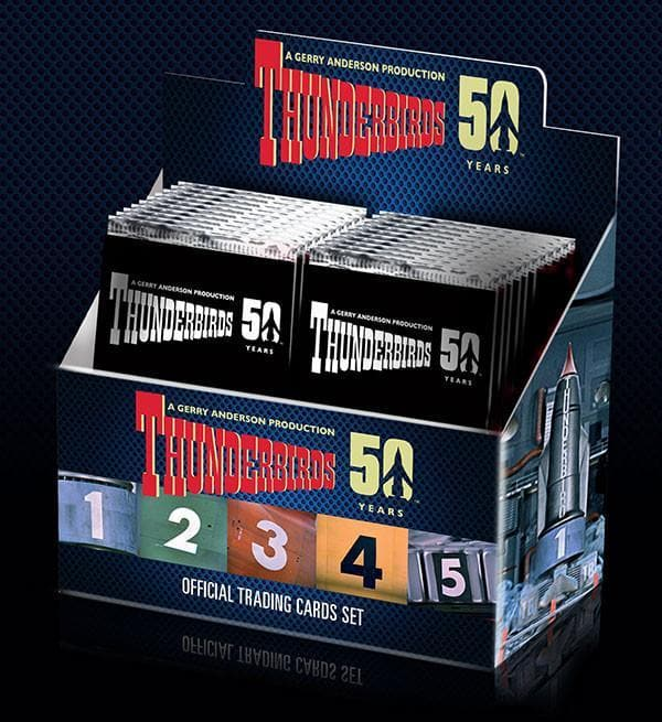 Classic Thunderbirds Trading Cards [50th Anniversary] - The Gerry Anderson Store