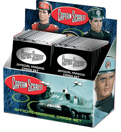 Captain Scarlet Trading Cards - The Gerry Anderson Store