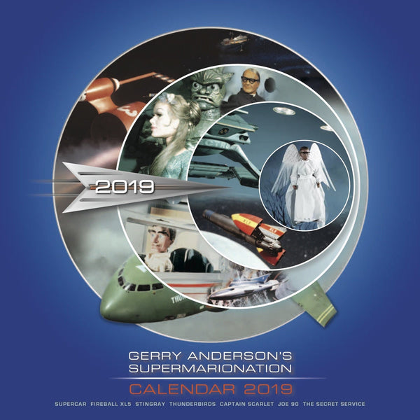 Gerry Anderson's Supermarionation 2019 Calendar [Official & Exclusive] - The Gerry Anderson Store