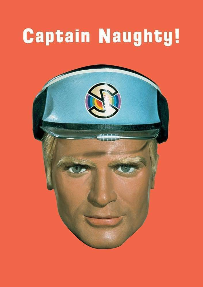 Captain Blue Greetings Card - The Gerry Anderson Store
