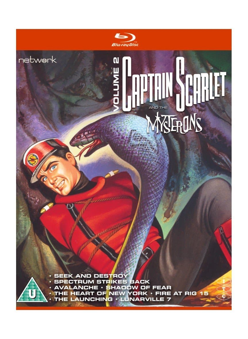 Captain Scarlet and the Mysterons 2 [BLU-RAY] - The Gerry Anderson Store