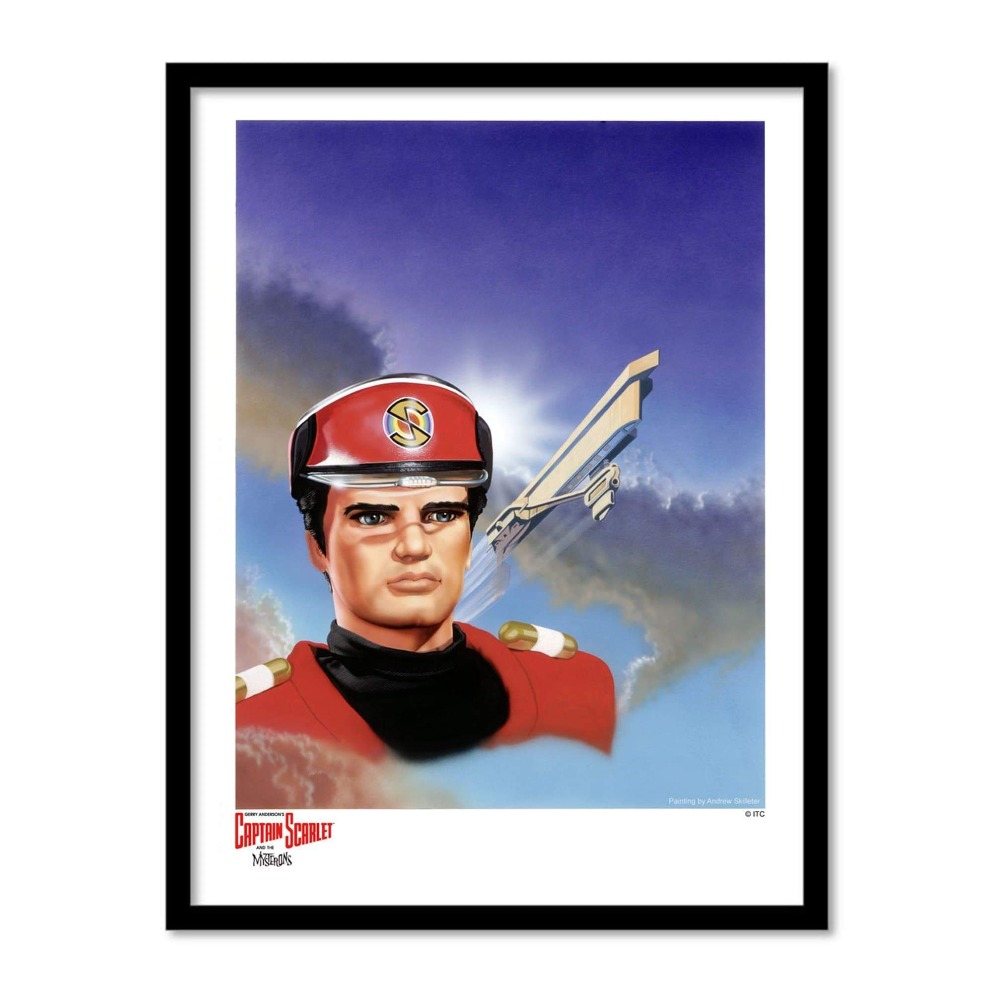 Captain Scarlet and Cloudbase Artist Signed Print (Official & Exclusive] - The Gerry Anderson Store