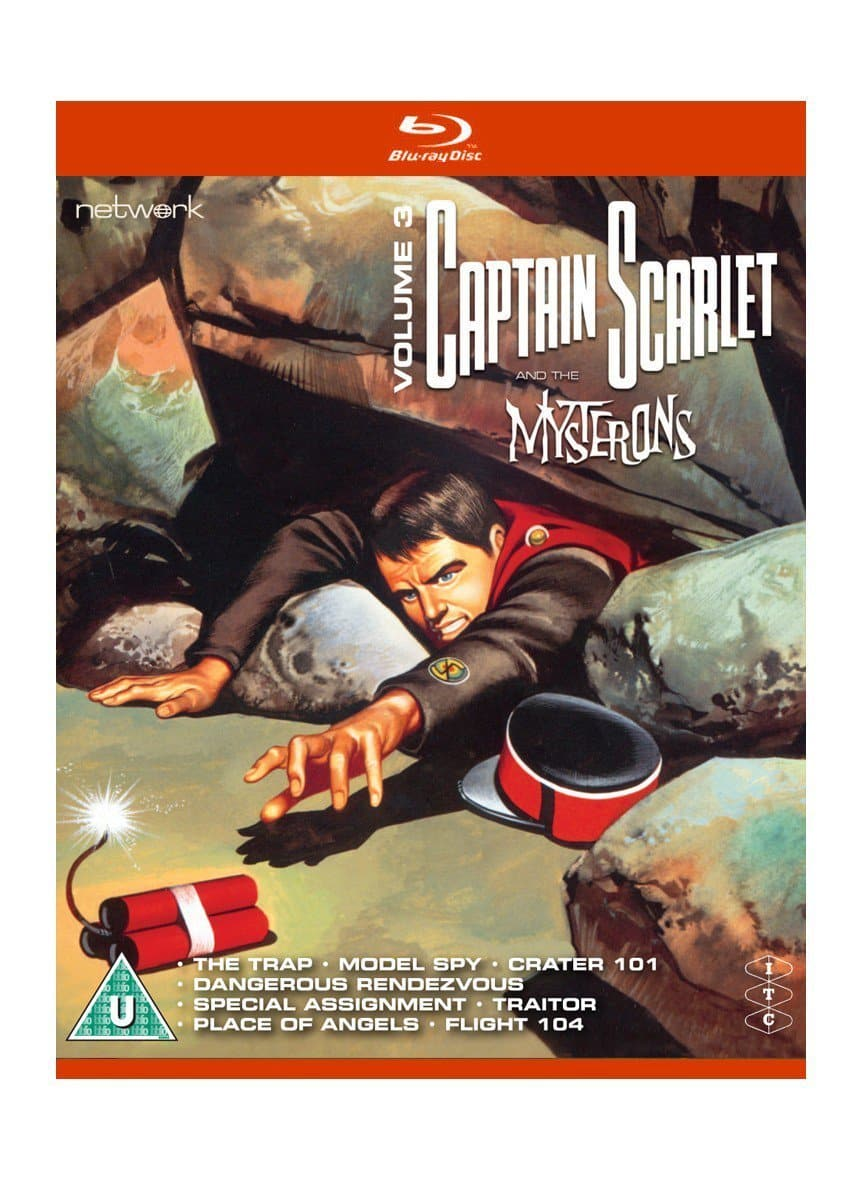 Captain Scarlet and the Mysterons 3 [BLU-RAY] - The Gerry Anderson Store