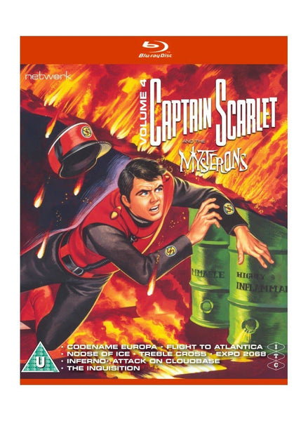 Captain Scarlet and the Mysterons 4 [BLU-RAY] - The Gerry Anderson Store